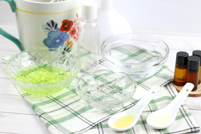 Moisturizing Hand Sanitizer Gel supplies
