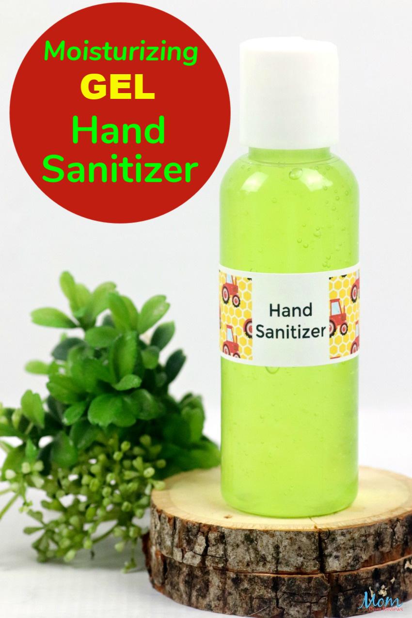 Moisturizing Hand Sanitizer Gel #DIY #Stayhome #staysafe