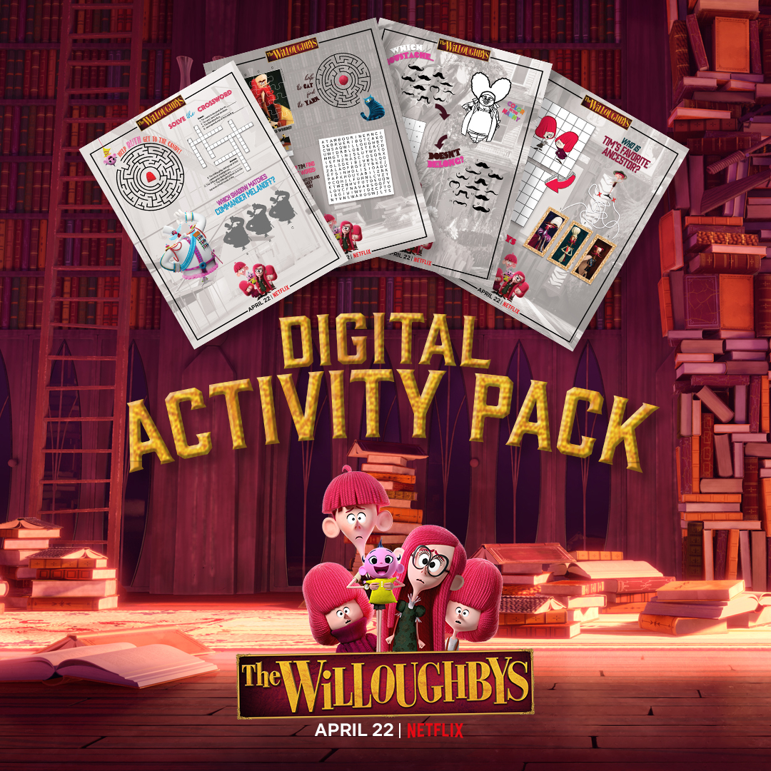 Don't miss The Willoughbys Twitter Watch Party 4/22 7p est- #Win Prizes! Free #Printables! #TheWilloughbys