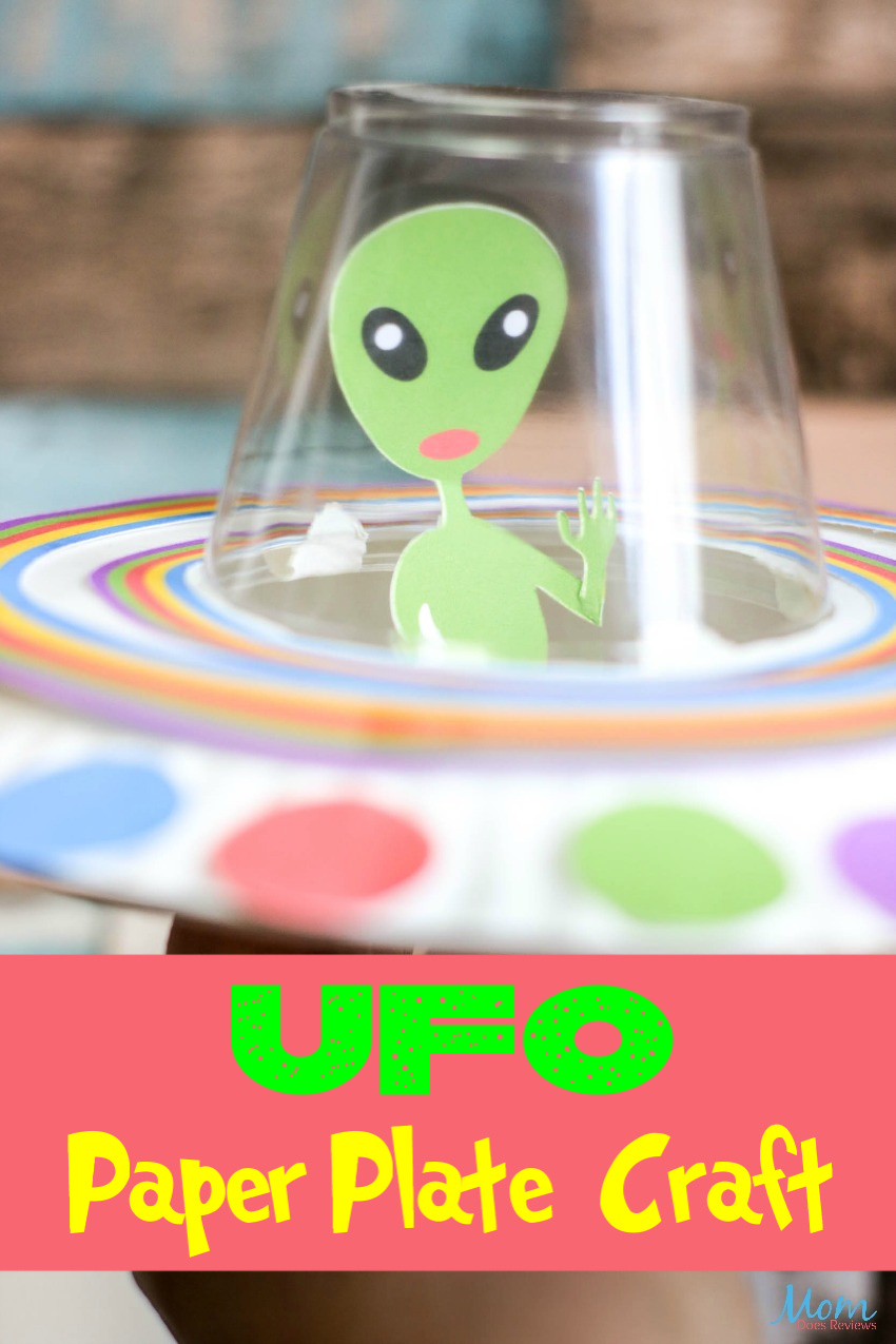 Fun Ufo Paper Craft For Kids Mom Does Reviews