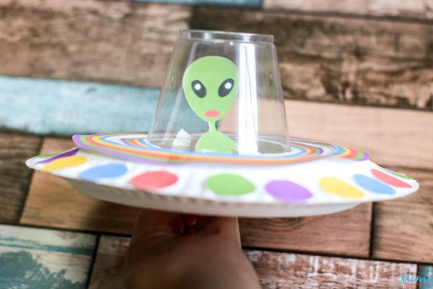 Fun UFO Paper Plate Craft for Kids
