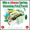 #Win a Libman Spring Cleaning Prize Pack! & 10 Spring Cleaning Tips! US, ends 4/20 #SpringCleaning