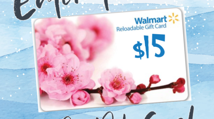 #Win $15 Walmart GC or PayPal Cash, WW ends 4/15