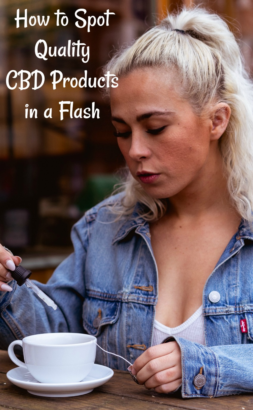 How to Spot Quality CBD Products in a Flash