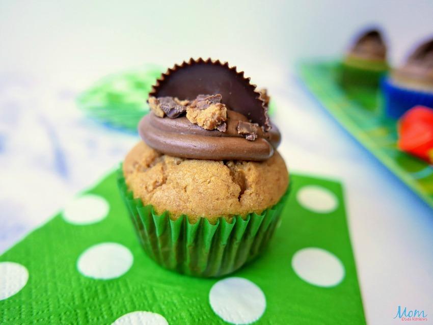 Nutella Reese's Peanut Butter Cupcakes Recipe
