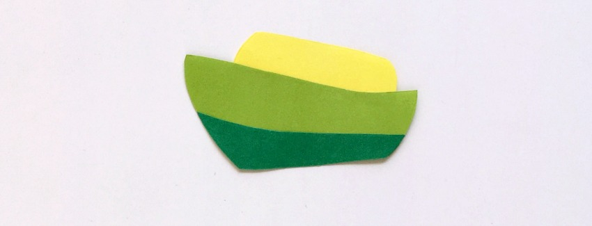 Paper Ship Craft process