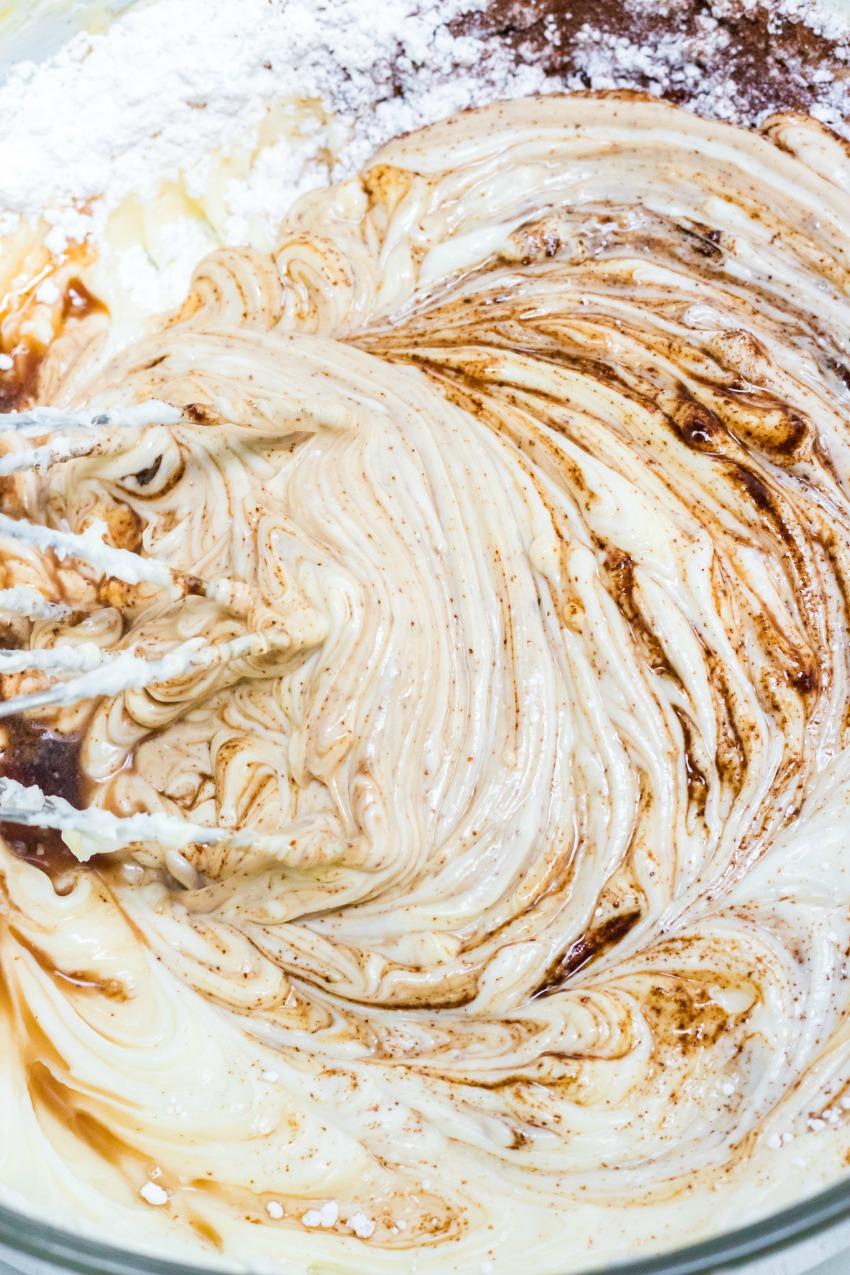 Tiramisu Instant Pot Cheesecake process