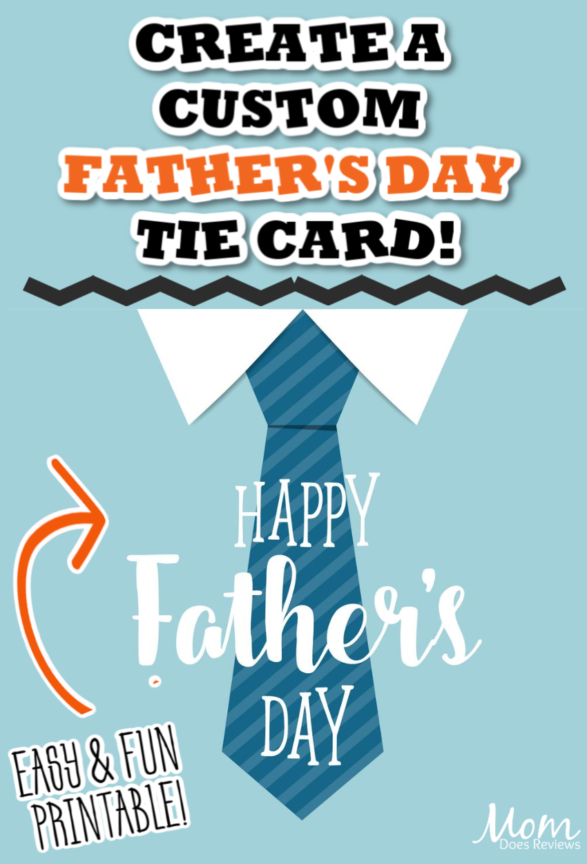 Make this Easy Father's Day Tie Card!
