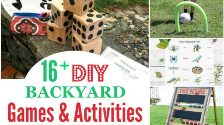 16+ DIY Backyard Games & Activities for Family Fun