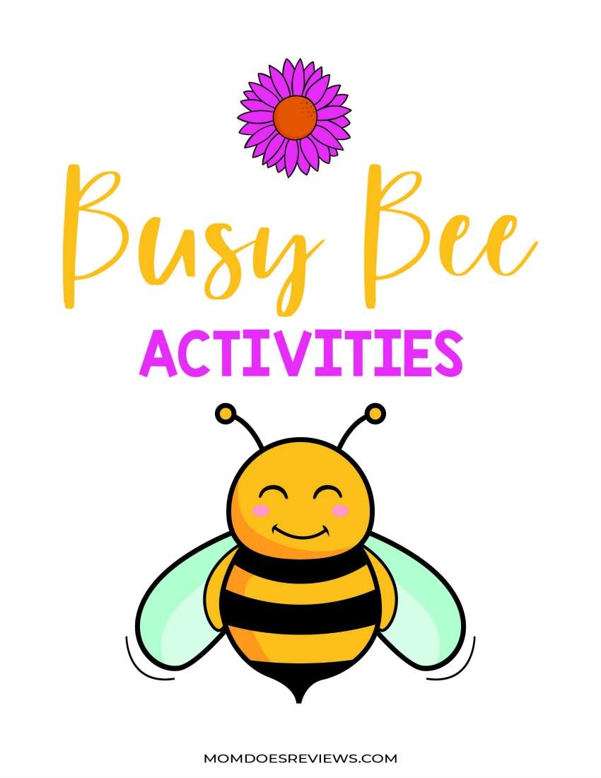 Free Printable Busy Bee Stay-at-Home Activity Pack #togetherathome #funstuff #freeprintables