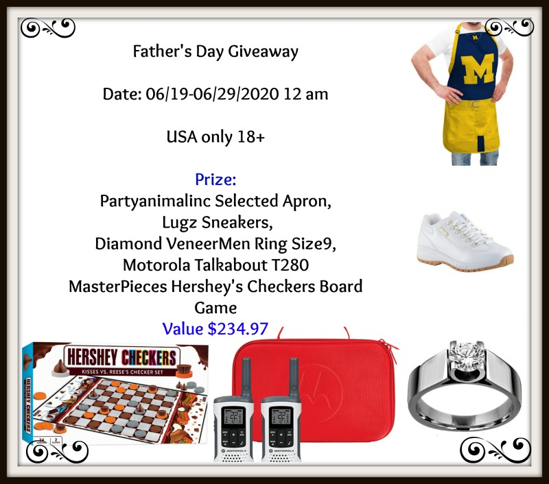 #Win this HUGE Father's Day Prize Pack! US ends 6/28