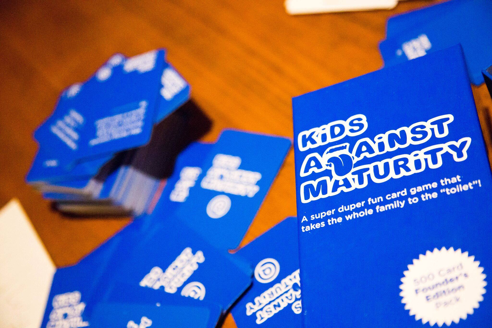 Kids Against Maturity cards