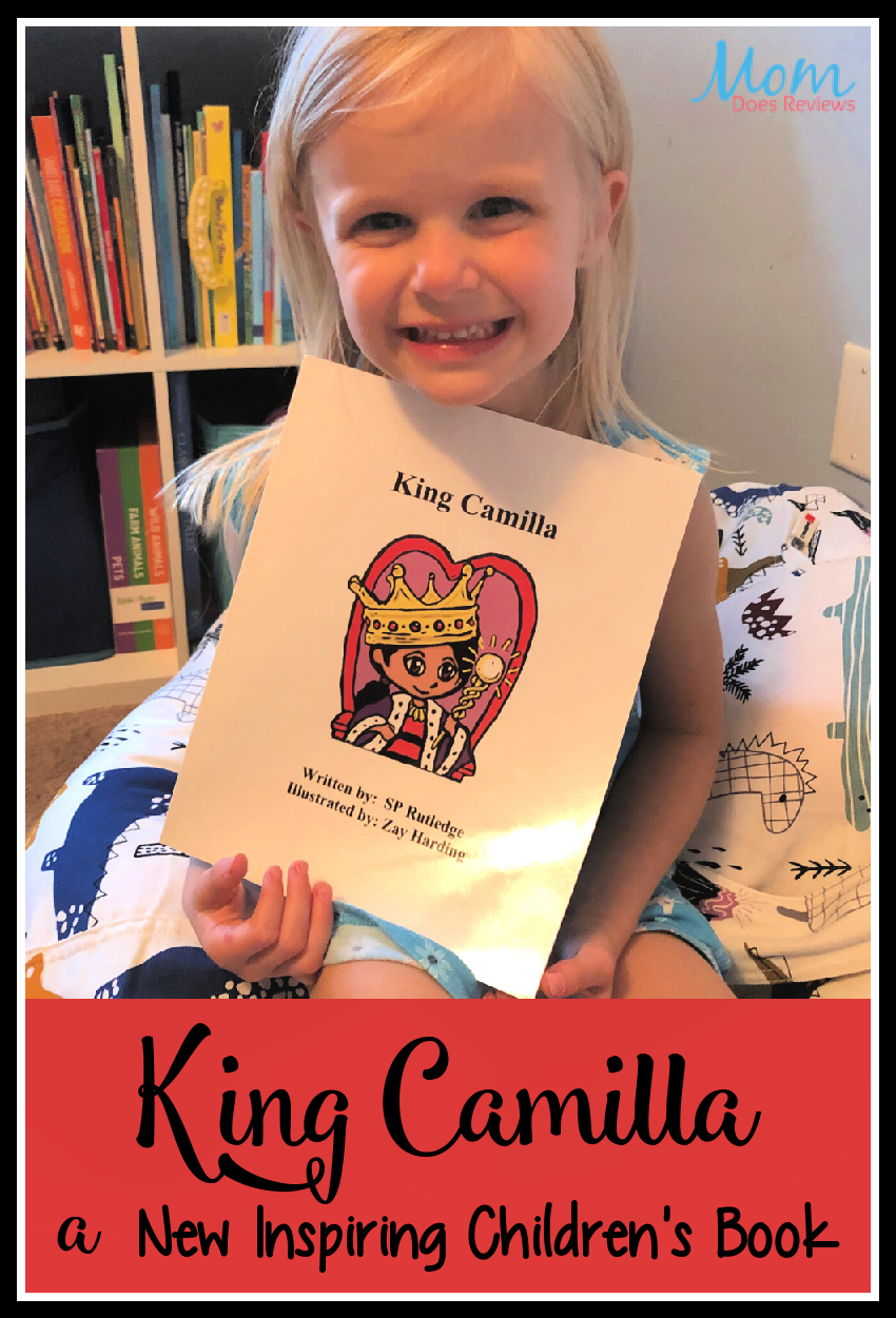 King Camilla is a New Inspiring Children's Book