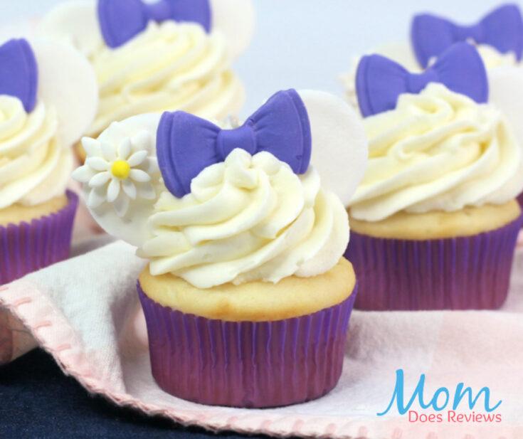 Daisy Duck Cupcakes