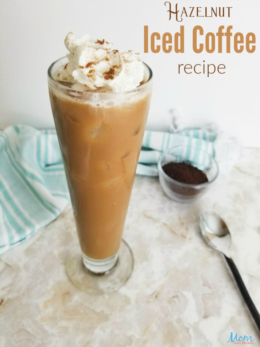 Delicious Hazelnut Iced Coffee Recipe Mom Does Reviews