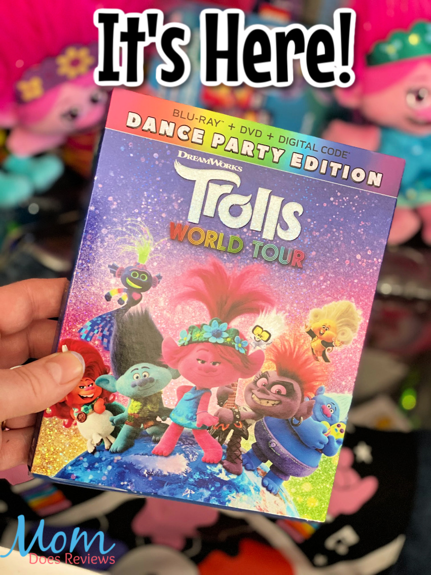 TROLLS WORLD TOUR is here- Party with Queen Poppy at Home! #Trollsworldtour