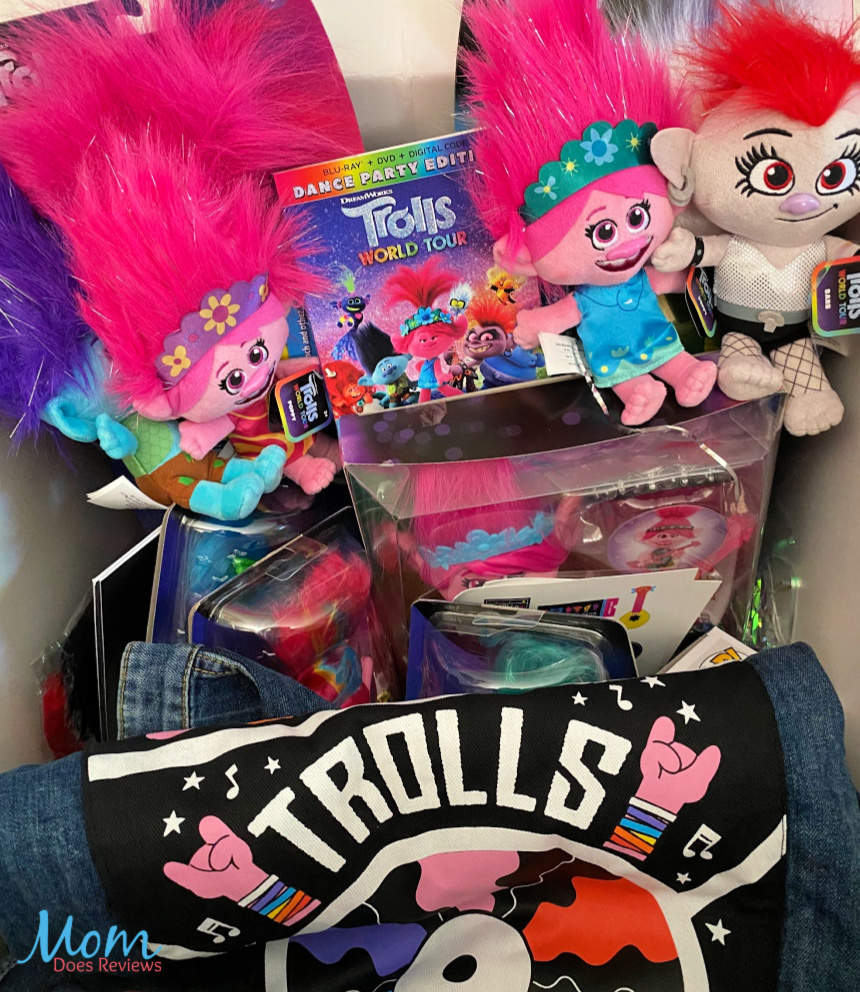 TROLLS WORLD TOUR is here- Party with Queen Poppy at Home! #Trollsworldtour #movie #trollsunboxing