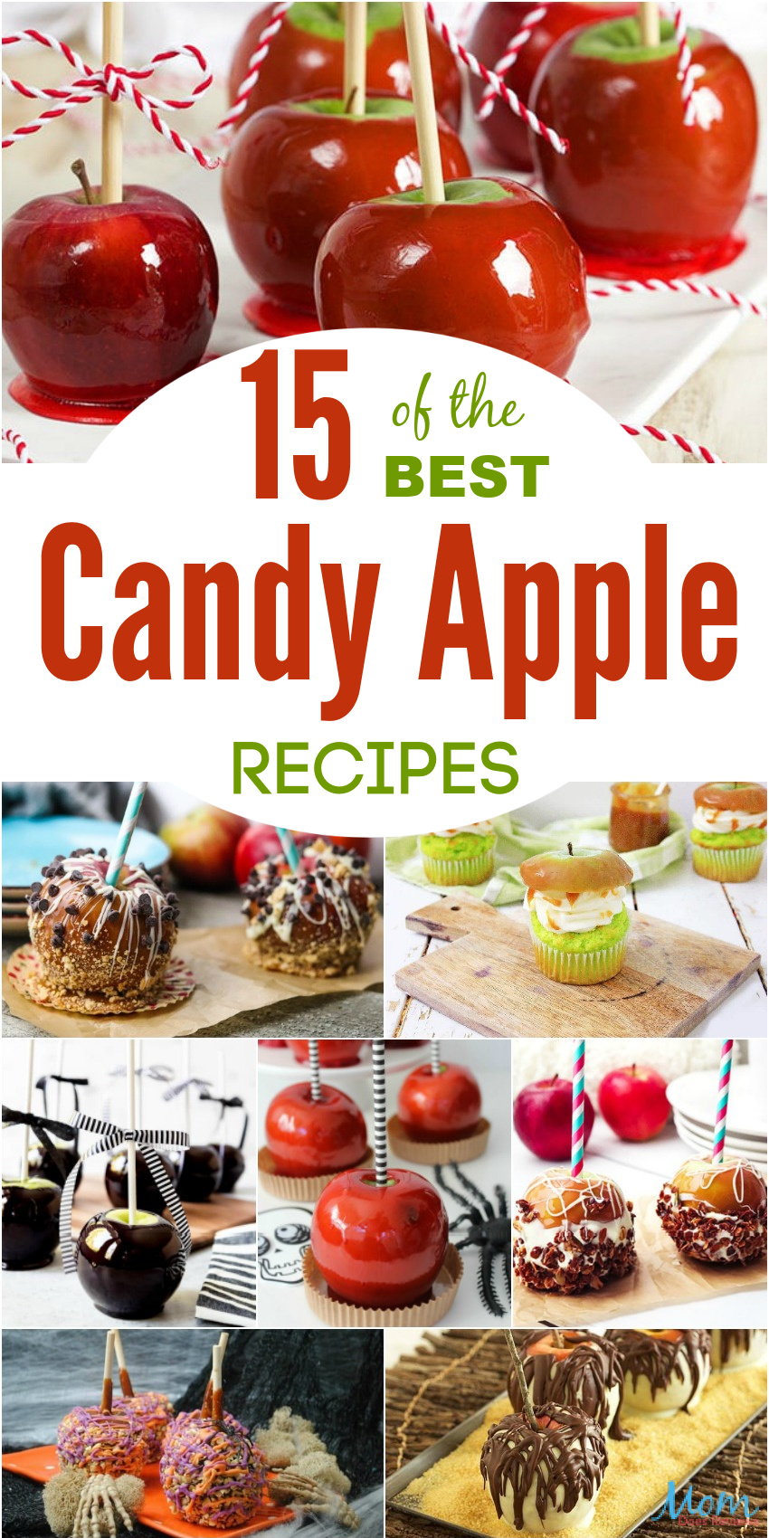 15 of the Best Candy Apple Recipes You Simply Must Try #candy #recipes #sweets