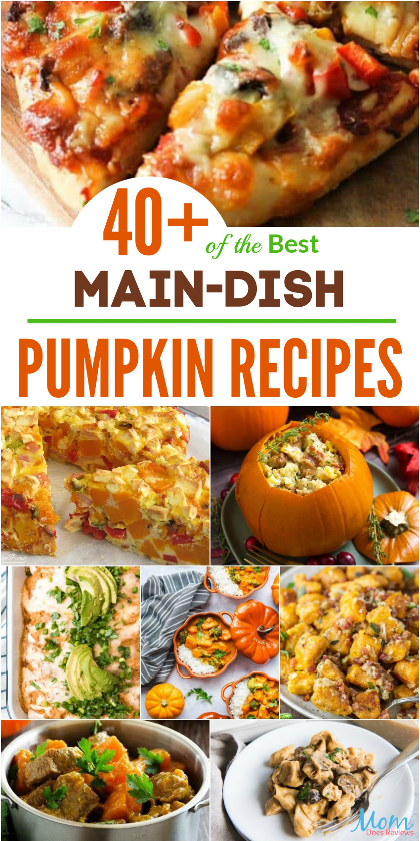 40+ of the Best Main-Dish Pumpkin Recipes You Simply Must Try #recipes #pumpkin #foodie