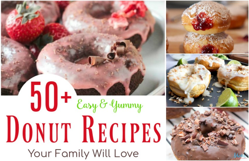 50+ Easy & Yummy Donut Recipes Your Family Will Love