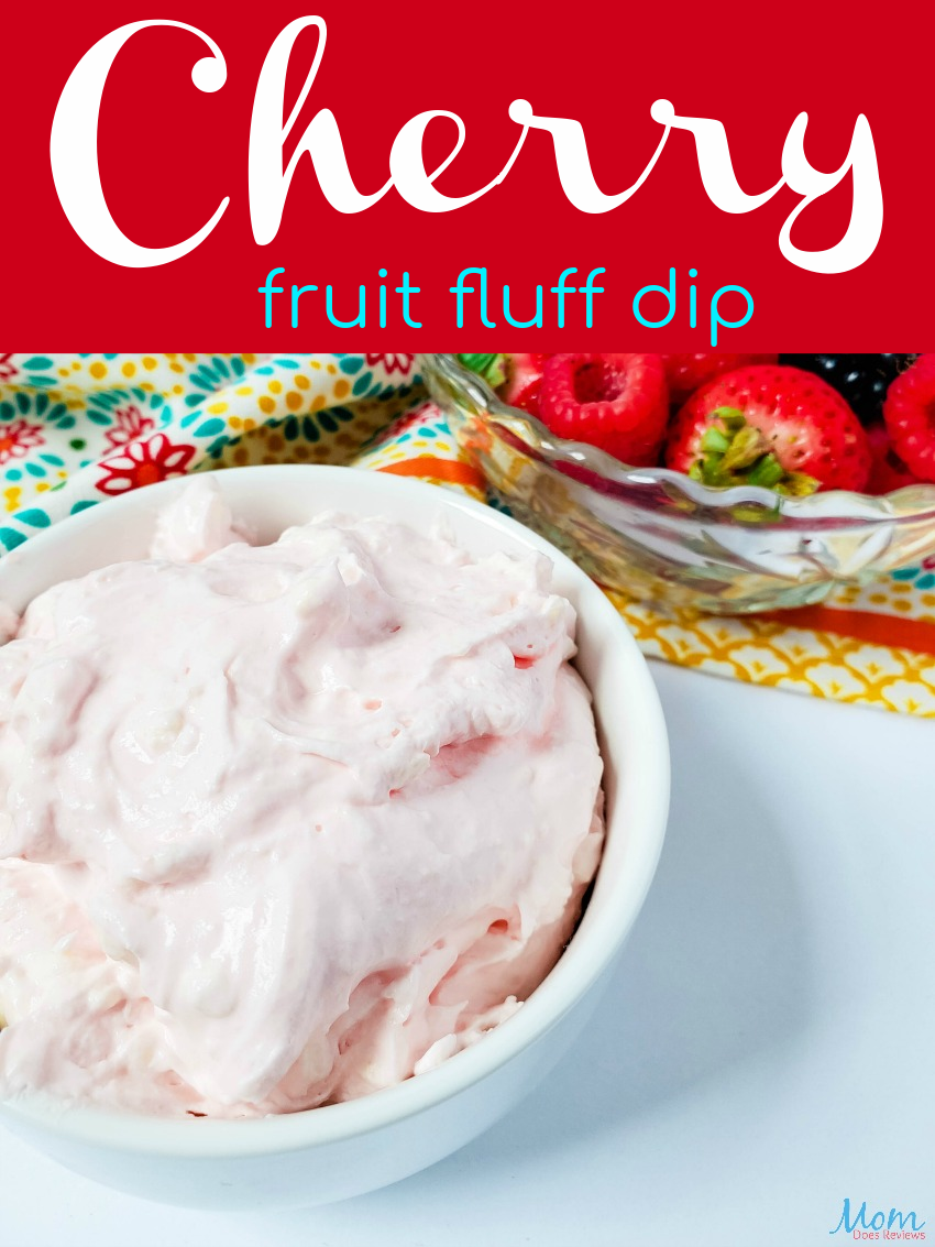 Cherry Fruit Fluff Dip Recipe