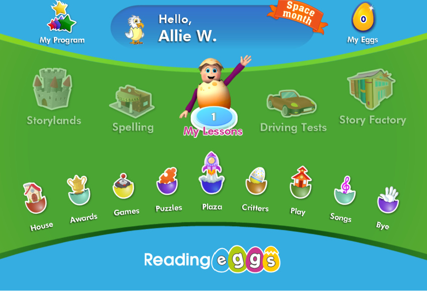 Getting Back to School with Reading Eggs