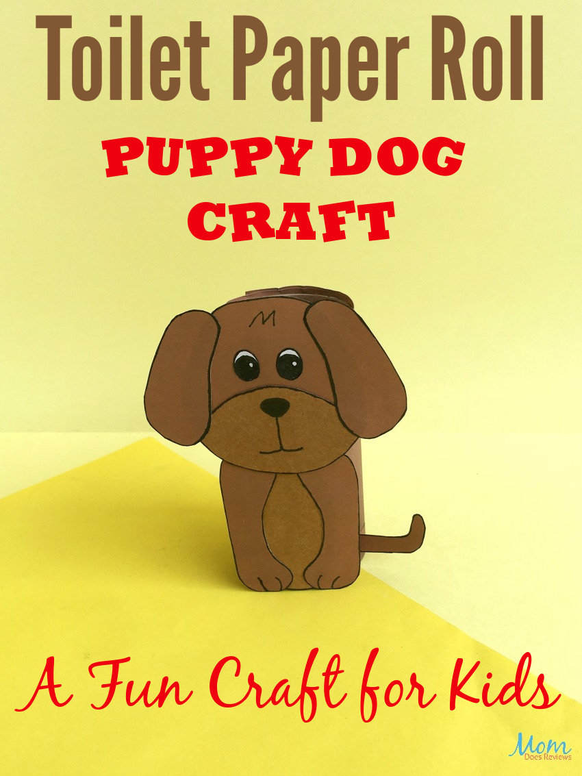 Toilet Paper Roll Dog Craft | A Fun Craft for Kids #craft #easycraft #funstuff