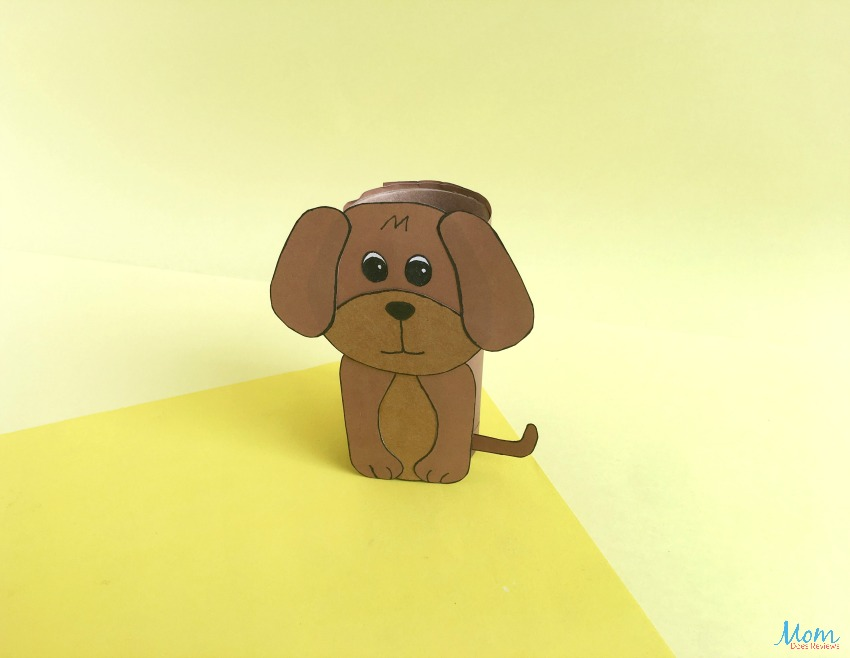 Toilet Paper Roll Dog Craft | A Fun Craft for Kids