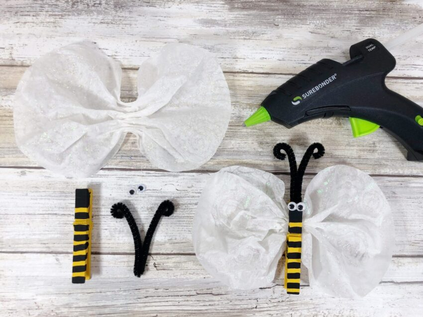 Easy Bee Craft- Another Great Dollar Store Creation!
