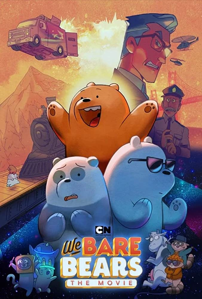 We Bare Bears The Movie- Adventure Awaits on DVD September 8, 2020