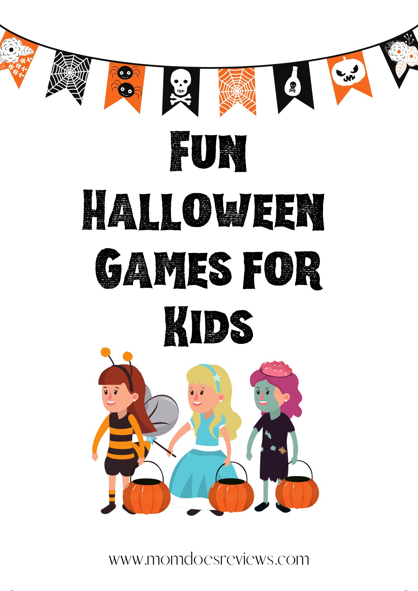 Halloween Games for Kids- Free Printables!