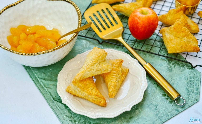 Air Fryer Apple Turnovers Recipe