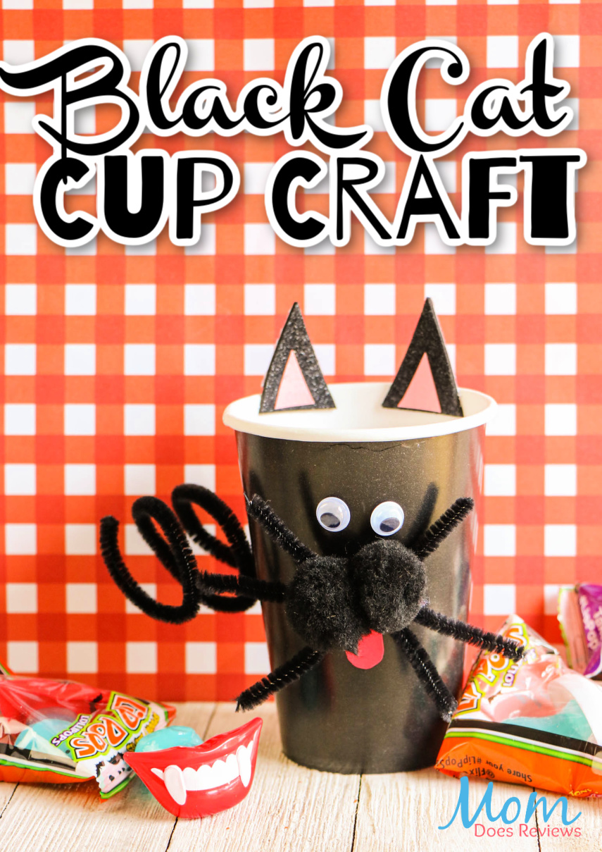 Black Cat Cup Craft