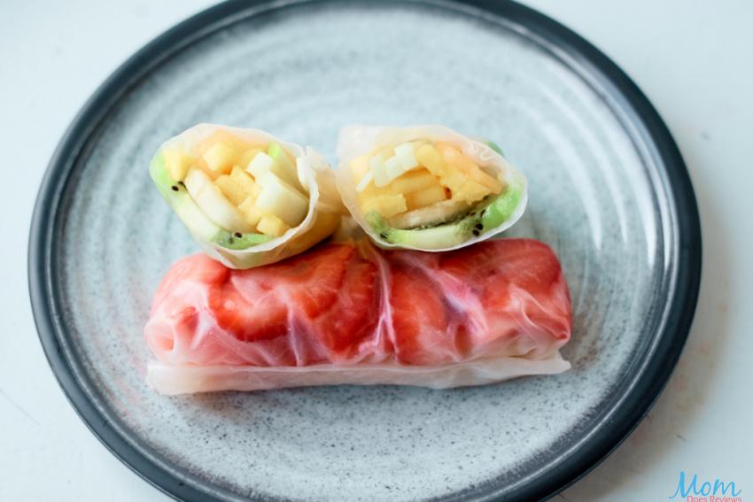 Fruit Salad Rolls Recipe