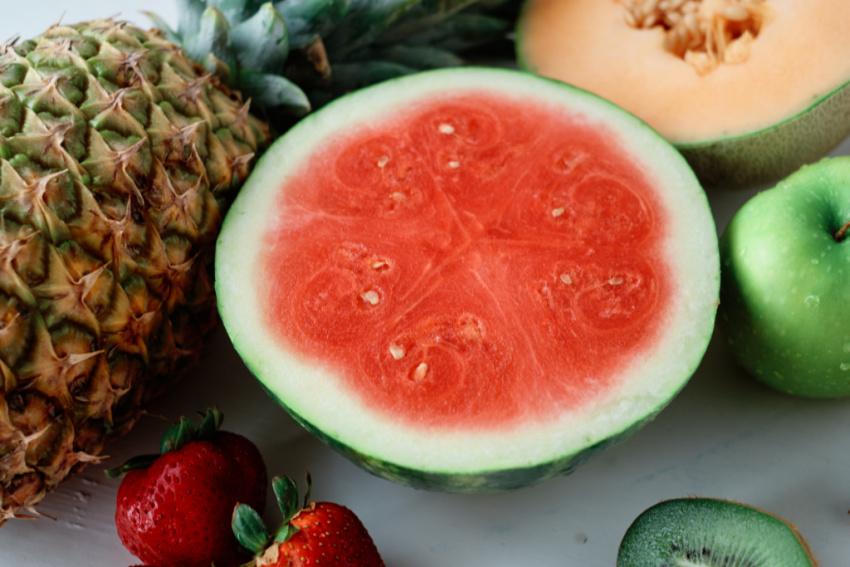 Fruit Salad Rolls ingredients