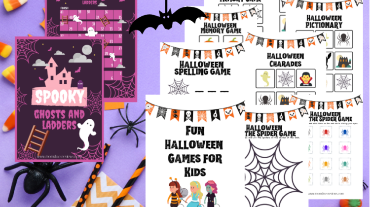 Halloween Games for Kids- Free Printables!