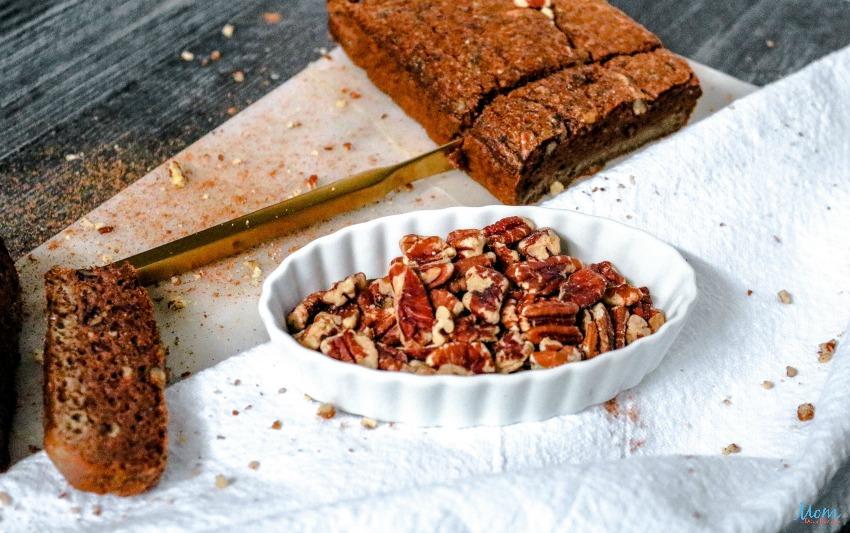 Keto Pumpkin Pecan Bread Recipe