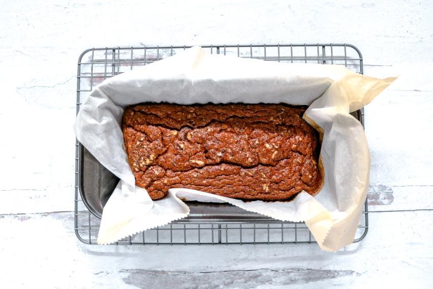 Keto Pumpkin Pecan Bread Recipe process