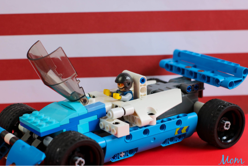LEGO Pull-Back Indy Car Craft