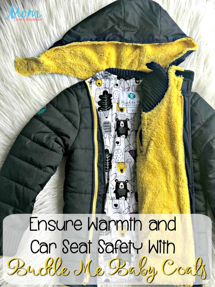 Ensure Warmth and Car Seat Safety With Buckle Me Baby Coats