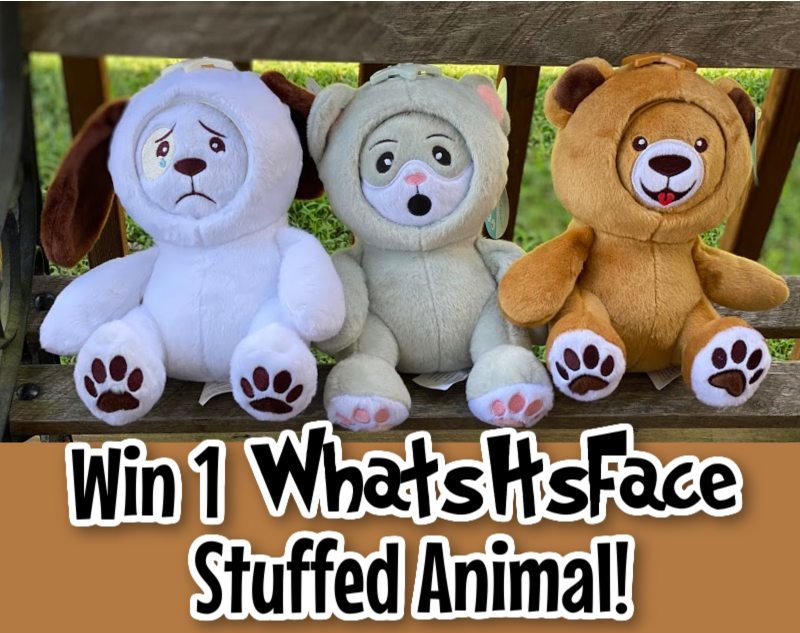 #Win WhatsItsFace Stuffed Animal