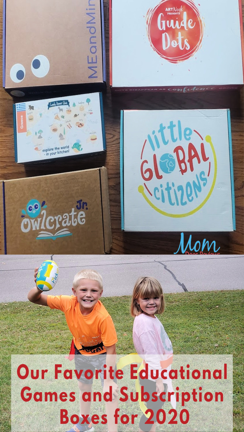 Favorite Educational Games and Subscription Boxes