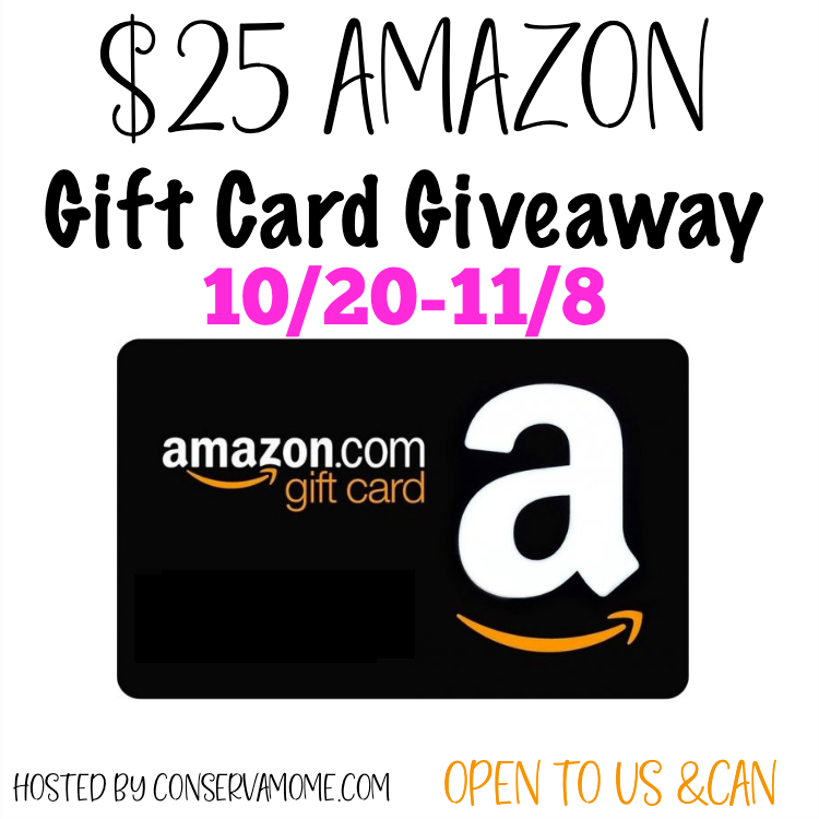 #Win $25 Amazon GC, US/CAN- Get a Head Start on Holiday Shopping!