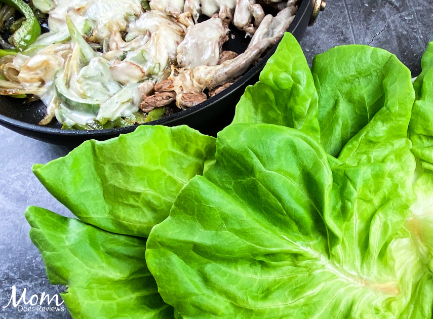 Easy Cheesesteak Lettuce Wraps- 30 Minute Meal