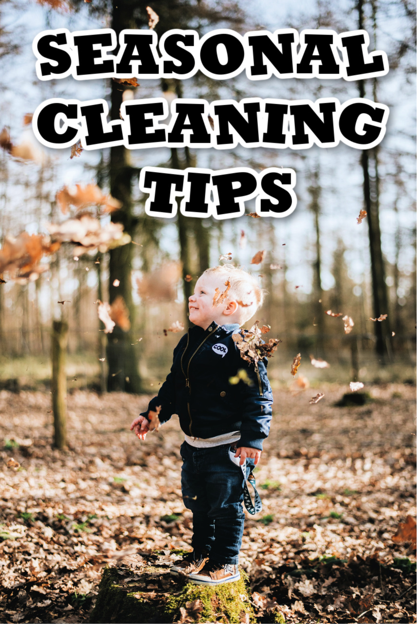 Cleaning Tasks That Will Help You Be Prepared for a New Season