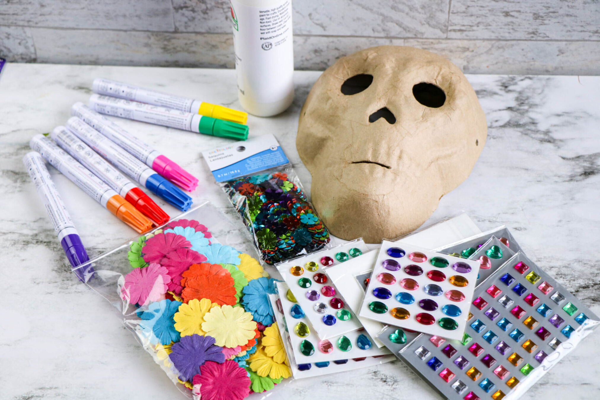 How to Decorate a Sugar Skull