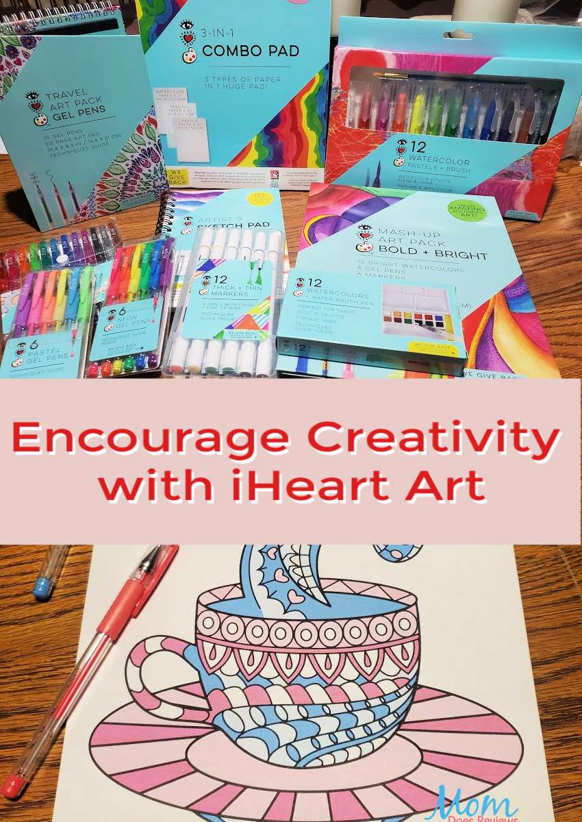 Encourage Creativity with iHeart Art Supplies