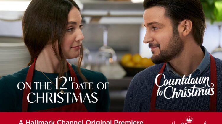 """Hallmark Channel Original Premiere of """"On the 12th Date of Christmas"""" on Sunday, Nov 1st at 8pm/7c! #CountdowntoChristmas"""