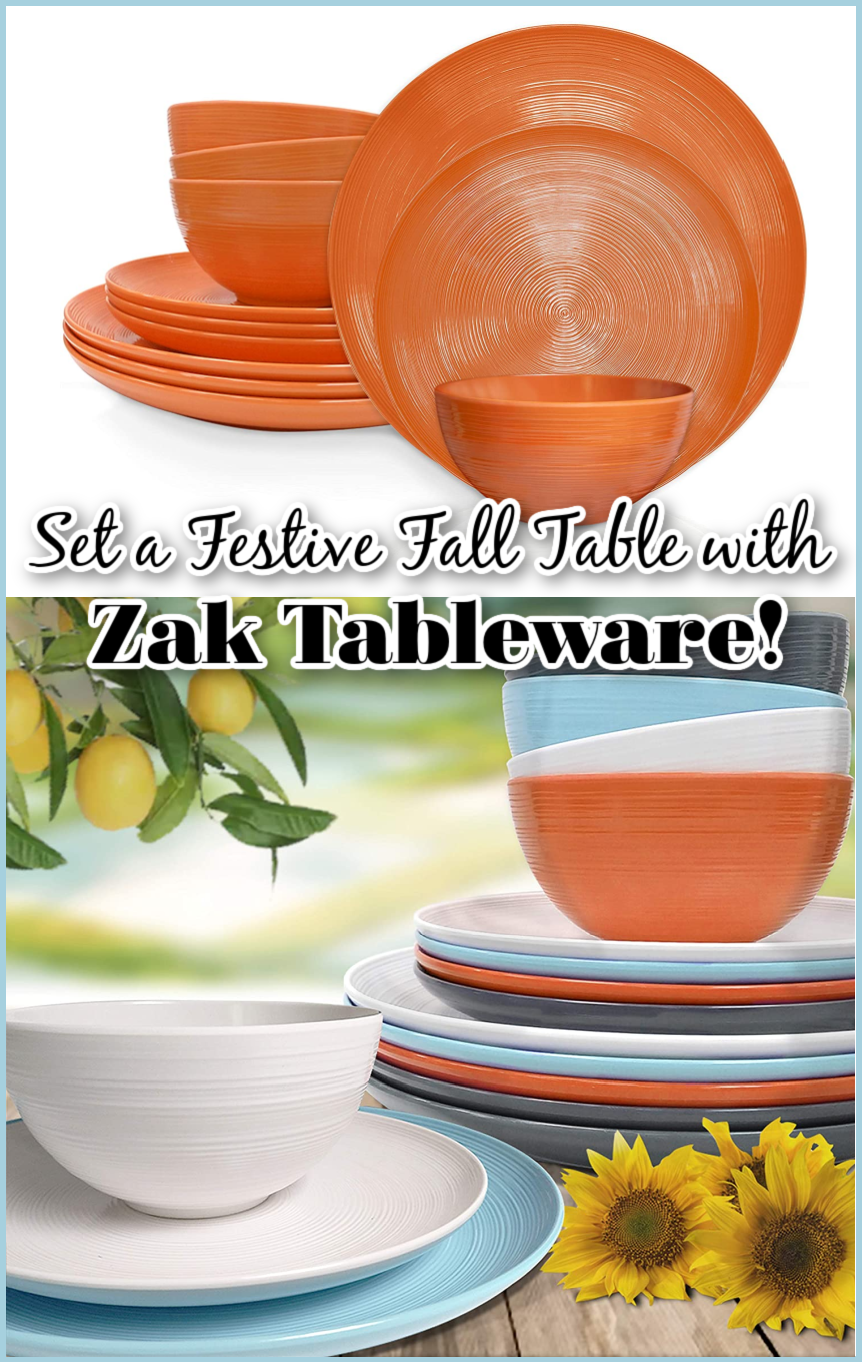 Set a Festive Fall Table with Zak Tableware!