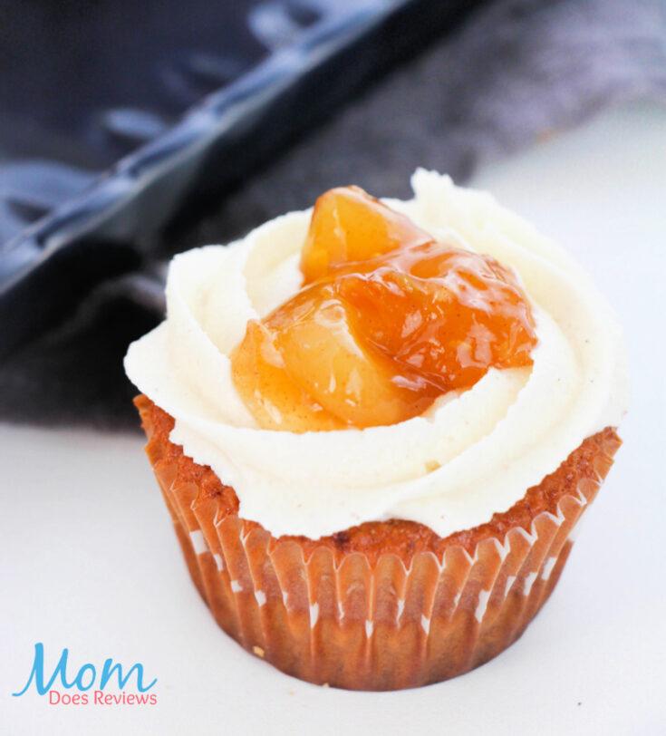 Homemade ApplePieCupcakes